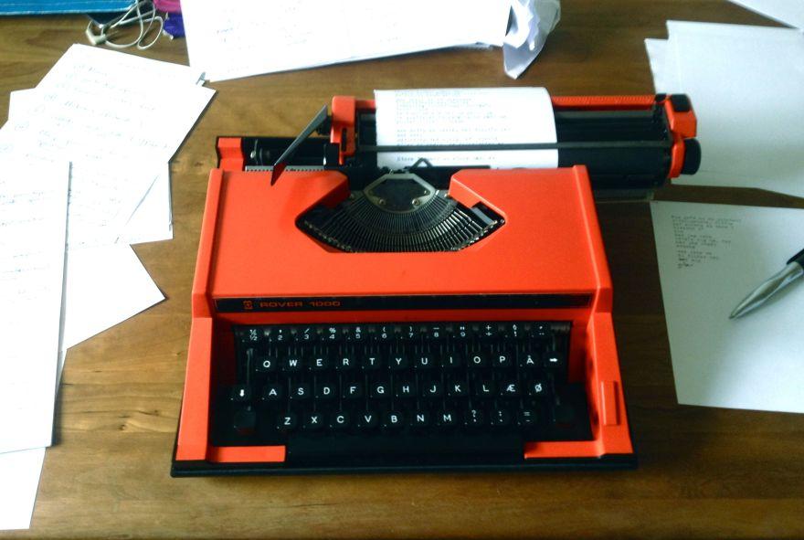 skrivemaskineny