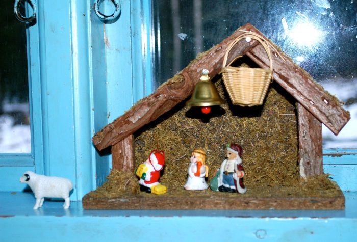 Drama i julekrybben